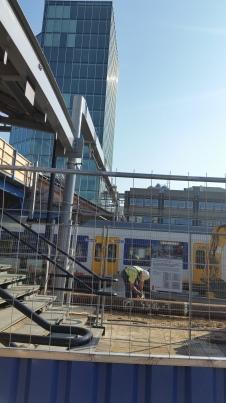 Lawaaiig werk op Utrecht CS